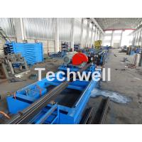 Cheap Galvanized Steel Cold Roll Forming Machine With High Speed 12-15m/min For Rack Box Beam / Step Beam for sale