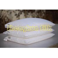China Silk Pillow with Cotton Cover on sale