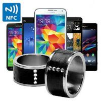 Cheap HOT Cool Smart NFC Ring Smart waterproof for iphone 6 Android Phone For Samsung XIAOMI for sale