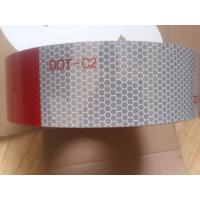 """Cheap Red And White Dot C2 Reflective Tape For Trailers Trucks Vehicles 12"""" Or 18"""" Each Patch for sale"""