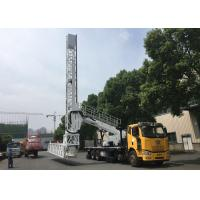 Buy cheap high efficient platform type mobile bridge inspection unit, MBIU from HSA from wholesalers