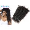Buy cheap Grade 8A Malaysian Virgin Hair Curly Deep Wave No Mixture 100 Human Hair Extensions from wholesalers
