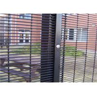Cheap Outdoor Prison Mesh 358 Security Fence / Steel Metal Security Fence Panels for sale