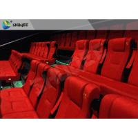 Cheap Film Projector 3D Cinema System With Plastic Cloth Cover Chair 100 People for sale