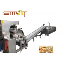 Cheap Full Automation Cereal Bar Forming Machine For Puffing Rice , 200-300kg/Hr for sale