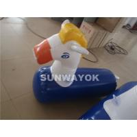 Cheap Professional Inflatable Accessories , Funny Airtight Inflatable Horse for sale