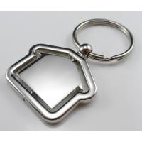 Cheap cheap fashion house shaped keychain manufacturer supplier China for sale