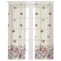 Cheap Curtains printed for living room print velvet textile for sale