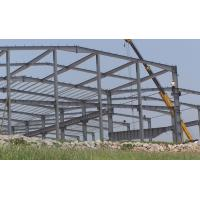 Cheap Small Agricultural Steel Frame Buildings , Large Span Prefabricated Steel Structures for sale