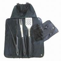 Cheap Barbecue Tool Set with Satin Polish Blade for sale