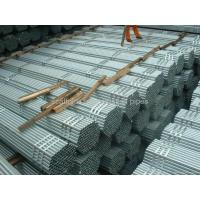 China Q235 Gr.B ERW welded steel pipe on sale