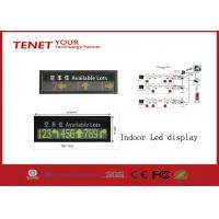 Cheap Indoor LED Display Signs Parking LED Display Green And Red 760*152mm for sale