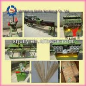 Cheap Bamboo bbq sticks incense sticks making machine production line mincing machine sugar stick packing machine for sale