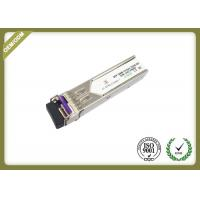 Cheap 20km Single Mode SFP Fiber Module Transceiver With LC Connector OEM Service for sale
