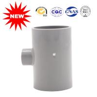 Cheap UPVC Reducing Tee Pipe Fitting 50*20 For Clear Water Building , Pvc Pipe Joints Couplings for sale