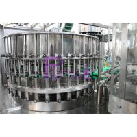 China 32 - 32 - 10 Bottle Filling Machine With Pulling Cap Screw Feeding Type on sale