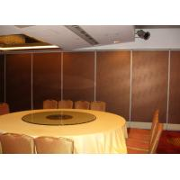 Cheap Elegant Movable Wall Partitions, Soundproofing Wall Panels for sale