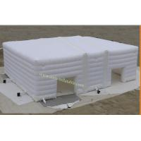 Cheap Inflatable Tent for Wedding , White Inflatable Camping Tent Inflatable Tent for Event for sale