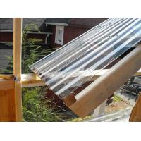 Cheap Clear Lexan Corrugated Polycarbonate Panels , Corrugated Skylight Panels wholesale