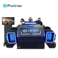 Cheap Comprehensive Type 9D VR Simulator Motion Ride For Middle Age And Family for sale