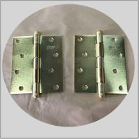Quality Residential House Brass Ball Tip Hinges , Pie Cut Corner Hinge For Wooden Doors wholesale