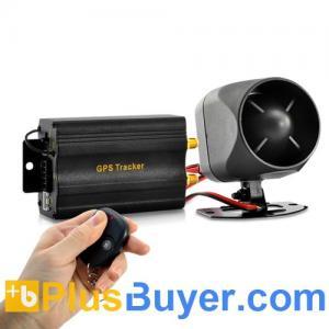 China Real-Time Car GPS Tracker + Alarm System (Quadband, Remote, Shock Sensor) on sale
