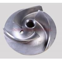 Buy cheap open impellers investment castings pump parts precision castings from wholesalers
