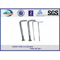 Cheap Foundation L Type Anchor Railway Bolts Rail Fastening Products for sale