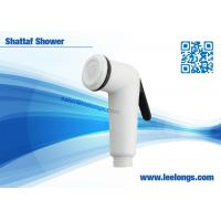 Buy cheap ABS PP Shattaf Muslim Showers Portable Bidet Sprayer With White plastic Surface from Wholesalers