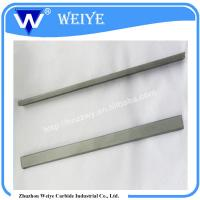 China Rectangular Cemented Carbide Wear Strips With 100% Virgin Raw Material on sale