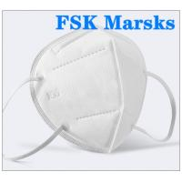 Cheap FFP2 FFP3 N95 Respirator Mask Four Layer Non Woven Disposable Mask Non Irritating for sale