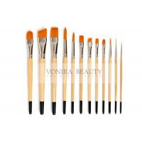 Cheap Nylon Body Paint Brushes For Acrylic Oil & Watercolor Student Artist Brushes For Beginners & Fine Art Painters for sale