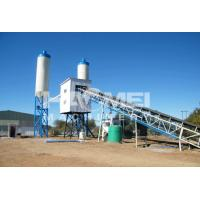 Cheap HZS60 Belt Conveyor Type Concrete Batching Plant for sale