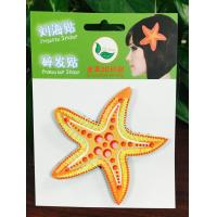 Cheap 3D Leather Printing Baby Girls Velcro Hair Bows Accessories Beautiful wholesale