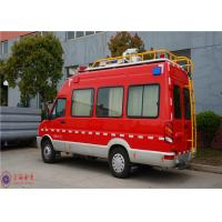 Cheap IVECO Chassis Command Fire Trucks Gross Weight 4000kg For Buliding Fire Fighting for sale
