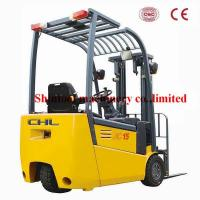 Cheap 3-wheel Diesel Forklift Truck 1.5 Ton Seated Operator With AC System for sale
