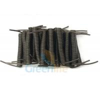 Buy cheap Innovative Stainless Steel Wire Black Stretchy Coil Strap Ready For DIY Assembly from wholesalers