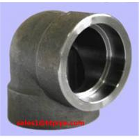 Quality ASTM B564 UNS N10276  45  / 90 deg  nickel  alloy  forged  scoket welding sw elbow ASME B16.11 wholesale