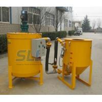 Cheap Hydraulic High Pressure Grout Mixer Machine Special Design Seal Structure For The Pump for sale