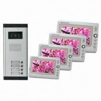 Cheap 7-inch Color Video Intercom for Apartments, with 960 x 234 Effective Pixels for sale