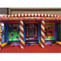 Cheap Commercial 3 In 1 Carnival  Inflatable Sports Games For Kids And Adult for sale