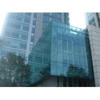 Cheap Dark Grey Building Curtain Wall Panels / Glazing Curtain Wall Insulation for sale