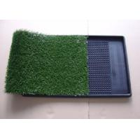 Cheap Green Artificial Pet Turf / Artificial Turf Grass For Dogs Environment Friendly for sale