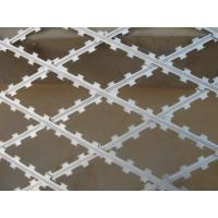 airport Razor barbed welded wire mesh fencing panels , ISO9001 approvals