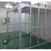 China ULPA Filter Portable Softwall Clean Room For Biology Laboratory  Built - In Centrifugal Blower on sale
