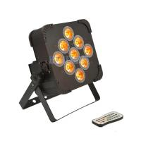 Cheap Slim Par Battery Powered Led Par Lights 9x18 Watt For Stage Decoration for sale