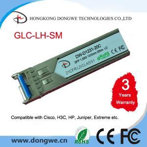 Cheap GLC-LH-SM= Cisco network module GE SFP LC connector LX/LH transceiver for sale