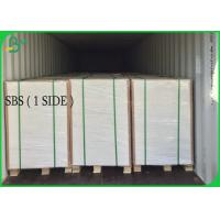 Cheap One Side Coated Art Paper 215g 235g 250g 275g Bristol paper With Virgin Pulp Material for sale
