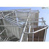 Fast / Easy Assembly 48 Ring Lock System Scaffolding For Providing Safe Working Area