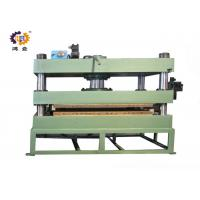 Buy cheap 11kw 300T Green Hydraulic Heat Press Molding Machine For Door Plate from wholesalers